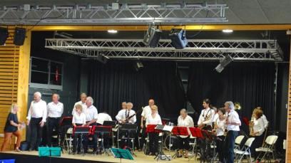 Groupe Musical du Nyonsais en concert à Taulignan en mai 2018