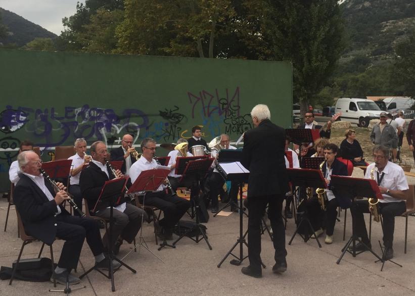 Concert du Groupe musical du nyonsais pour Les virades de l'espoir 30 septembre 2018 à Aubres_03